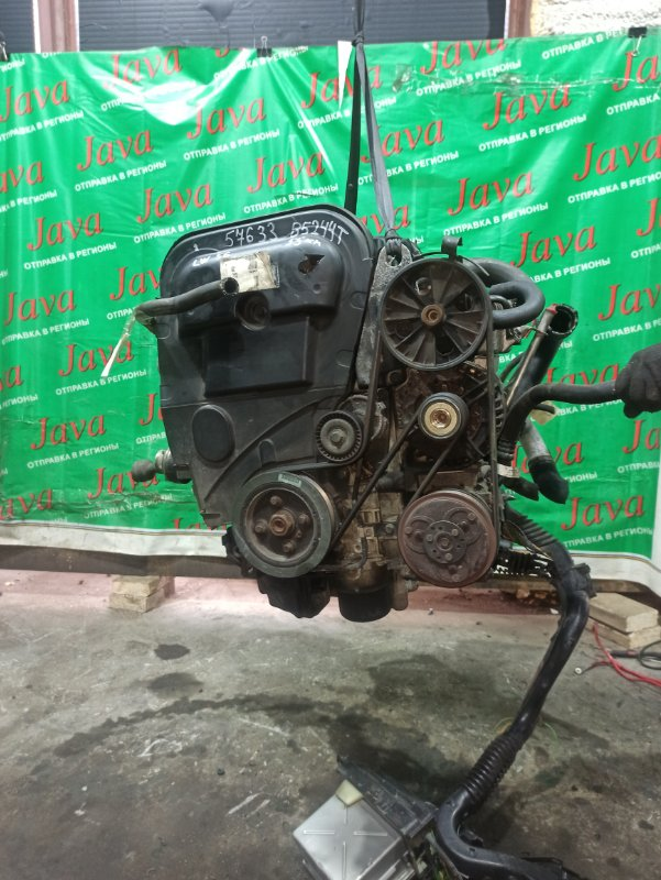 Двигатель Volvo V70 LW56 B5244T 2002 (б/у) ПРОБЕГ-55000КМ. 4WD. +КОМП. ПОД А/Т. СТАРТЕР В КОМПЛЕКТЕ. YV1LW56K8Y2702513. ДЕФЕКТ КРЫШКИ ГРМ.