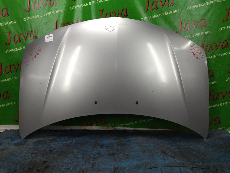 Капот Mazda Premacy CP8W FP 2001 передний (б/у) ПОТЕРТОСТИ. ТЫЧКА
