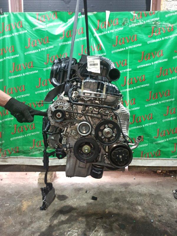 Двигатель Suzuki Alto HA35S R06A 2014 (б/у) ПРОБЕГ-36000КМ. 2WD. КОСА+КОМП. ЭЛЕКТРО ЗАСЛОНКА. ПОД А/Т. СТАРТЕР В КОМПЛЕКТЕ.