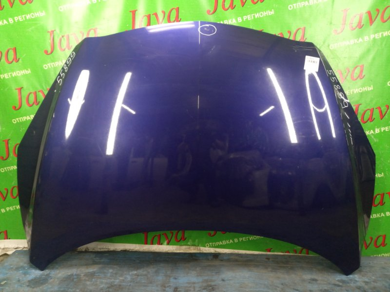Капот Mazda Axela BLEFW LF-VDS 2009 передний (б/у) ПОТЕРТОСТИ. СКОЛ КРАСКИ.