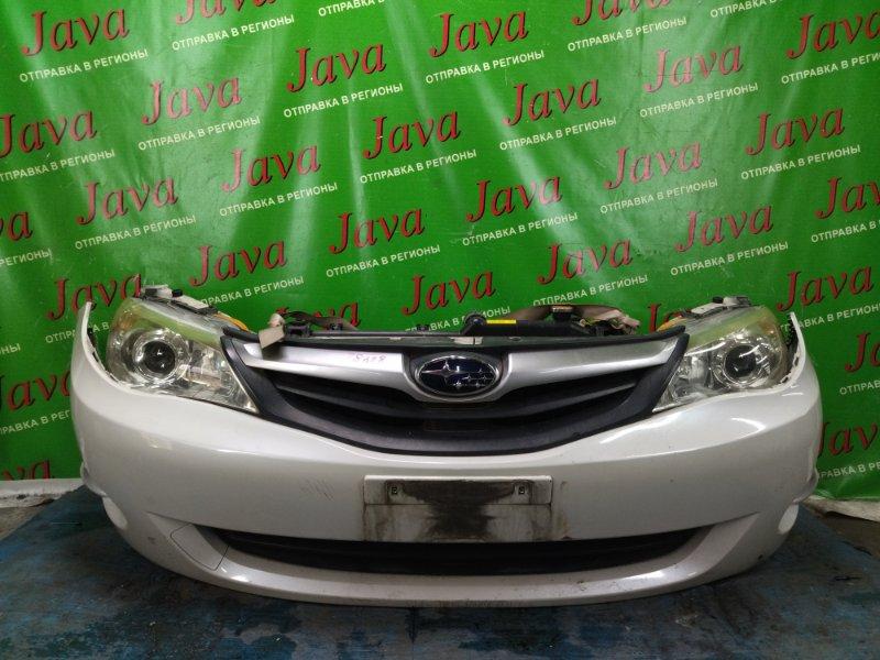 Ноускат Subaru Impreza GH2 EL154 2009 передний (б/у) XENON. ТУМАНКИ. ДЕФЕКТ НИЖНИХ КРЕПЛЕНИЙ НА БАМПЕРЕ.