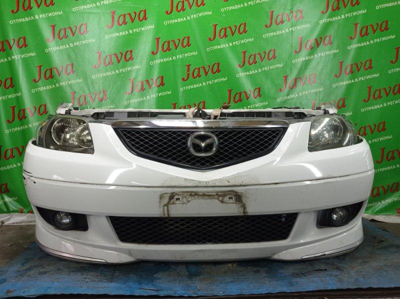 Ноускат Mazda Mpv LW3W L3-DE 2002 передний (б/у) 1-я МОДЕЛЬ. КСЕНОН. ТУМАНКИ. ПОД А/Т. ПОТЕРТОСТИ.