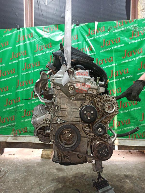 Двигатель Nissan March K13 HR12DE 2013 (б/у) ПРОБЕГ-29000КМ. 2WD. +КОМП. ПОД А/Т. СТАРТЕР В КОМПЛЕКТЕ.