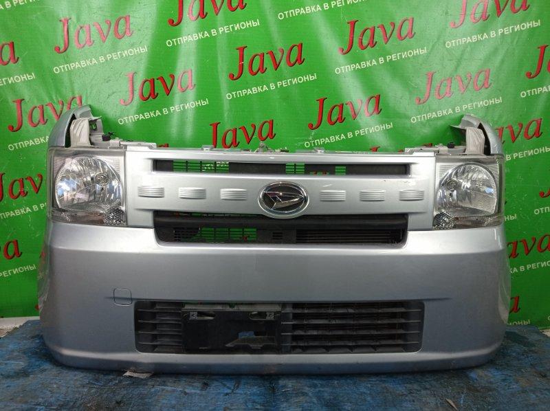 Ноускат Daihatsu Move Conte L575S KF-VE 2012 передний (б/у) ГАЛОГЕН. ПОД А/Т. ДЕФЕКТ БАМПЕРА СНИЗУ.