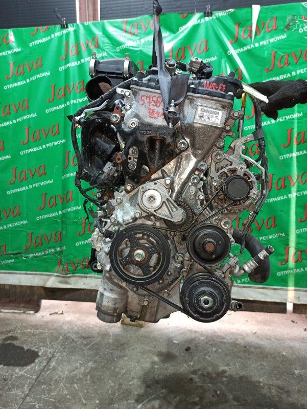 Двигатель Toyota Probox NSP160 1NR-FE 2017 (б/у) ПРОБЕГ-28000КМ. 2WD. +КОМП. ПОД А/Т. СТАРТЕР В КОМПЛЕКТЕ. ЛОМ ДАТЧИКА VVT-I.