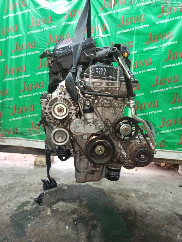 Двигатель Suzuki Hustler MR41S R06A 2016 (б/у) ПРОБЕГ-49000КМ. 2WD. +КОМП. ПОД А/Т. СТАРТЕР В КОМПЛЕКТЕ.