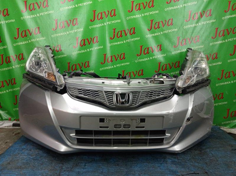 Ноускат Honda Fit GE6 L13A 2012 передний (б/у) 2-я МОДЕЛЬ. XENON. ПОТЕРТОСТЬ НА ЛЕВОЙ ФАРЕ. ПОТЕРТОСТИ.