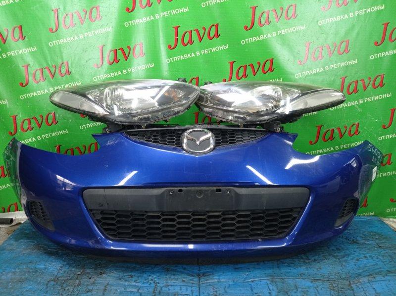 Ноускат Mazda Demio DE3FS ZJ-VE 2008 передний (б/у) ГАЛОГЕН. ПОД А/Т