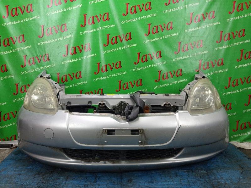 Ноускат Toyota Vitz SCP10 1SZ-FE 2000 передний (б/у) 1-я МОДЕЛЬ. ГАЛОГЕН. ПОД А/Т. ПОТЕРТОСТИ.