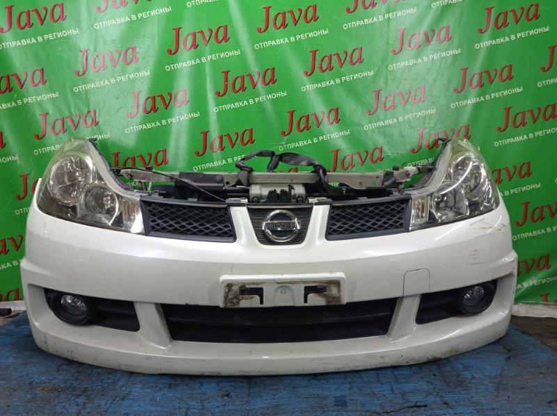 Ноускат Nissan Wingroad VZNY12 HR16DE 2006 передний (б/у) ГАЛОГЕН. ТУМАНКИ. ПОД А/Т.
