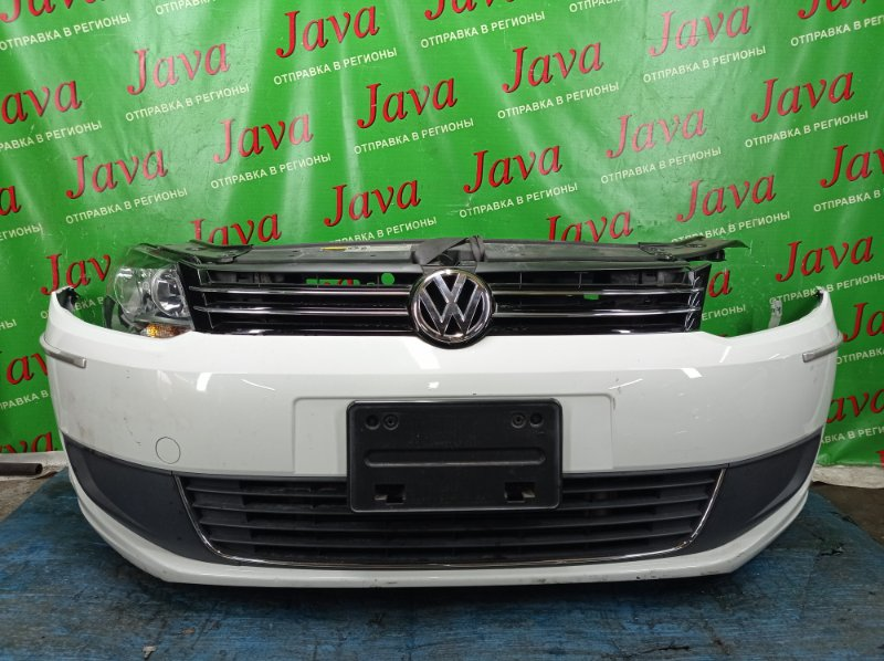 Ноускат Volkswagen Touran 1T3 CTH 2015 передний (б/у) ГАЛОГЕН. ПОД А/Т. НЕТ L ФАРЫ. WVGZZZ1TZEW084638
