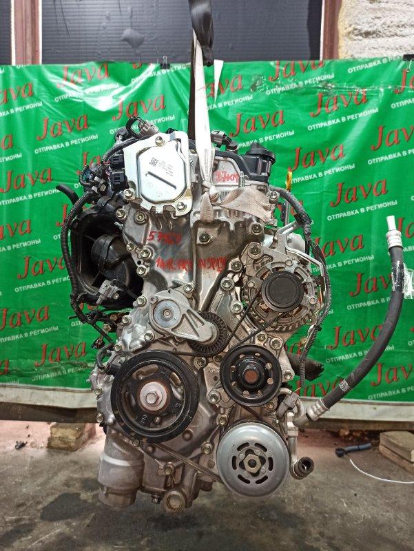 Двигатель Toyota Vitz NSP130 1NR-FKE 2015 (б/у) ПРОБЕГ-27000КМ. 2WD. +КОМП. ПОД А/Т. СТАРТЕР В КОМПЛЕКТЕ. ДЕФЕКТ СТАРТЕРА.
