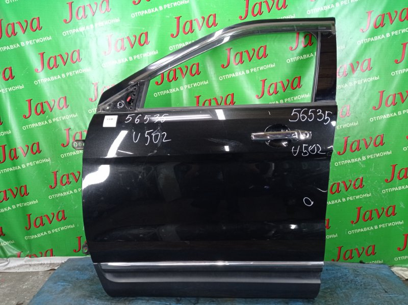 Дверь Ford Explorer U502 ECOBOOST 2012 передняя левая (б/у) ПОТЕРТОСТИ. ТЫЧКА. 1FM5K7D96DGA72962