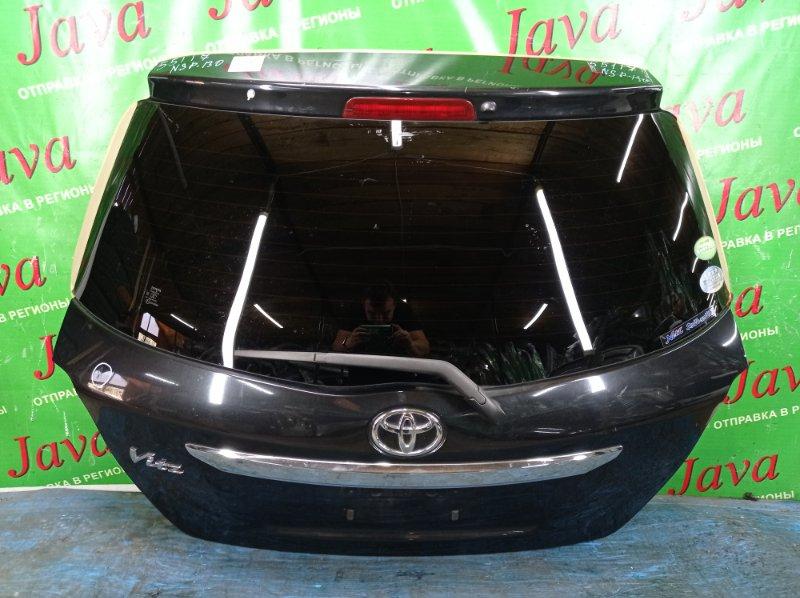 Дверь задняя Toyota Vitz NSP130 1NR-FE 2012 задняя (б/у) ПОТЕРТОСТИ. ТЫЧКА. МЕТЛА