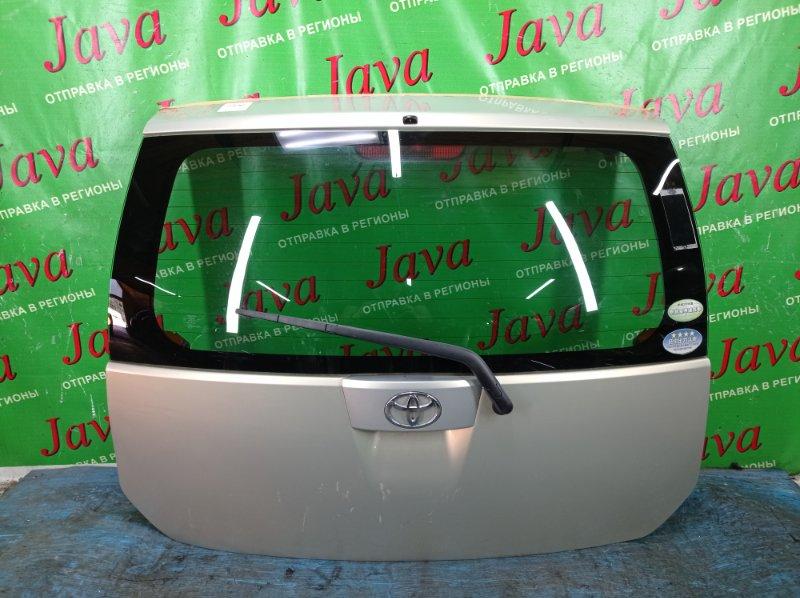 Дверь задняя Toyota Passo QNC10 K3-VE 2005 задняя (б/у) ПОТЕРТОСТИ. МЕТЛА.