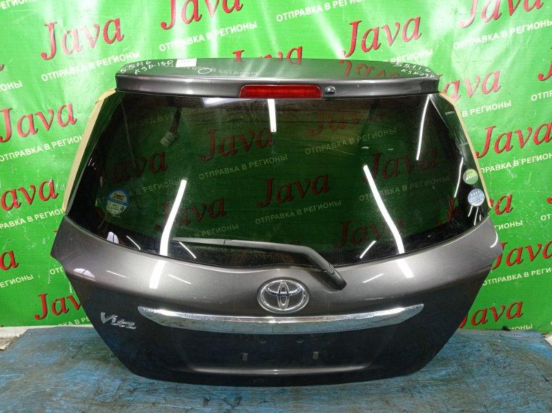 Дверь задняя Toyota Vitz KSP130 1KR-FE 2013 задняя (б/у) ПОТЕРТОСТИ. ТЫЧКА. МЕТЛА.