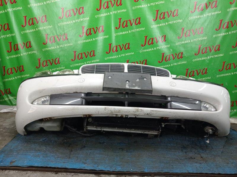 Ноускат Jaguar Xj X350 2006 передний (б/у) ТУМАНКИ. СОНАРЫ. ПОД А/Т. ФАРЫ ГАЛОГЕН.  SAJKC80PX5SG38705