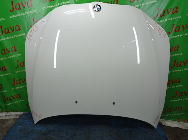 Капот Bmw 5-Series E61 N54B25 2005 передний (б/у) ПОТЕРТОСТИ. WBANG52020B098803 525i