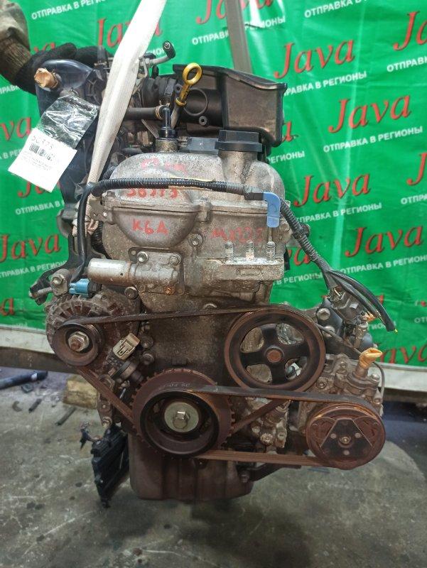 Двигатель Mazda Az Wagon MJ22S K6A 2007 (б/у) ПРОБЕГ-52000КМ. 2WD. КОСА+КОМП. МЕХ.ЗАСЛОНКА. ПОД А/Т. СТАРТЕР В КОМПЛЕКТЕ.