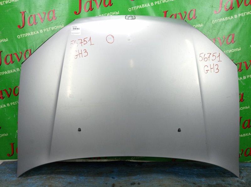 Капот Honda Hr-V GH3 D16A 2000 передний (б/у) ПОТЕРТОСТИ. ТЫЧКА.