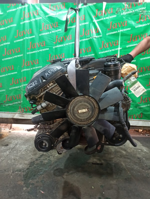 Двигатель Bmw 3-Series E46 M54B22 2002 (б/у) ПРОБЕГ-58000КМ. 2WD. 256S1. КОСА+КОМП. ПОД А/Т. СТАРТЕР В КОМПЛЕКТЕ. WBAET16070NG42275