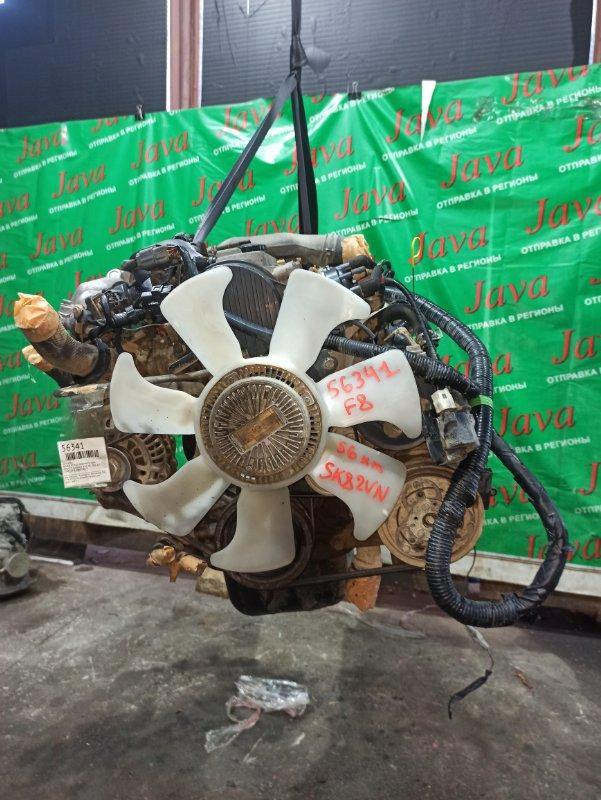 Двигатель Mazda Bongo SK82VN F8 2004 (б/у) ПРОБЕГ-56000КМ. 2WD. EFI. +КОМП. ПОД А/Т. СТАРТЕР В КОМПЛЕКТЕ.