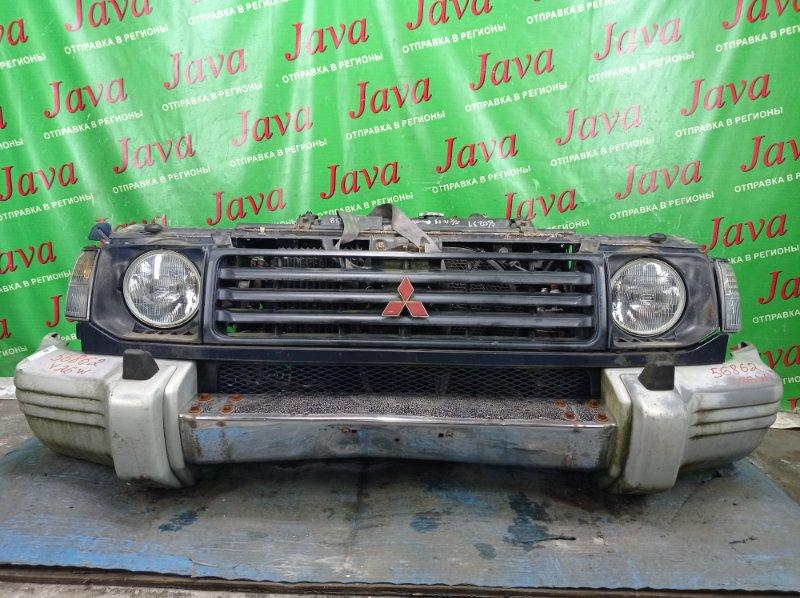 Ноускат Mitsubishi Pajero V26W 4M40 1995 передний (б/у) ПОД А/Т. ПОТЕРТОСТИ. ВМЯТИНА НА БАМПЕРЕ.