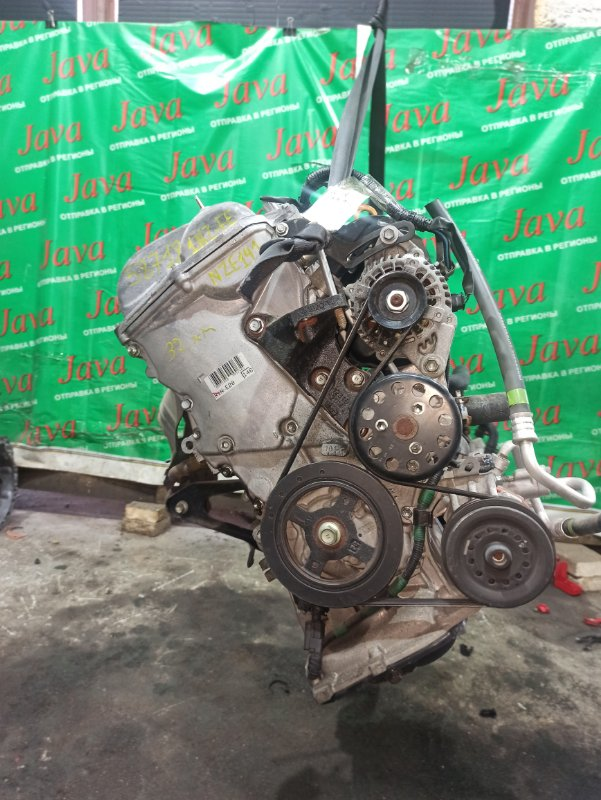 Двигатель Toyota Corolla Fielder NZE141 1NZ-FE 2010 (б/у) ПРОБЕГ-32000КМ. 2WD. ЭЛЕКТРО ЗАСЛОНКА. КОСА+КОМП.  ПОД А/Т. СТАРТЕР В КОМПЛЕКТЕ.