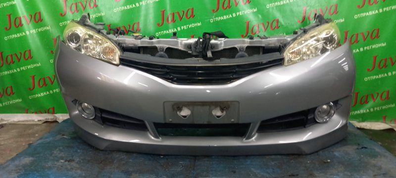 Ноускат Toyota Wish ZGE20 2ZR-FAE 2009 передний (б/у) ГАЛОГЕН. ТУМАНКИ