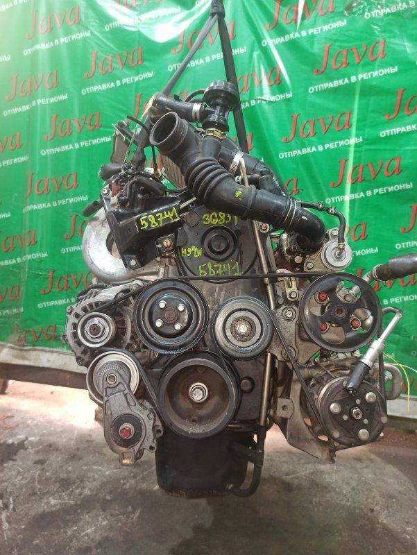 Двигатель Nissan Otti H92W 3G83-T 2007 (б/у) ПРОБЕГ-53000КМ. 2WD. +КОМП. МЕХ.ЗАСЛОНКА. ПОД А/Т. СТАРТЕР В КОМПЛЕКТЕ.