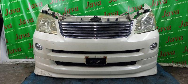 Ноускат Toyota Voxy AZR60 1AZ-FSE 2006 передний (б/у) XENON. ГУБА. ПОД А/Т. ПОТЕРТОСТИ.