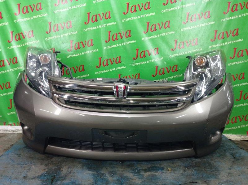Ноускат Toyota Isis ZGM11 3ZR-FAE 2010 передний (б/у) XENON. ТУМАНКИ. ПОД А/Т. ПОТЕРТОСТИ. НАДОРВАН БАМПЕР.