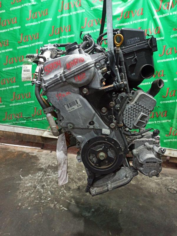 Двигатель Toyota Aqua NHP10 1NZ-FXE 2012 (б/у) ПРОБЕГ-59000КМ. 2WD. +КОМП.