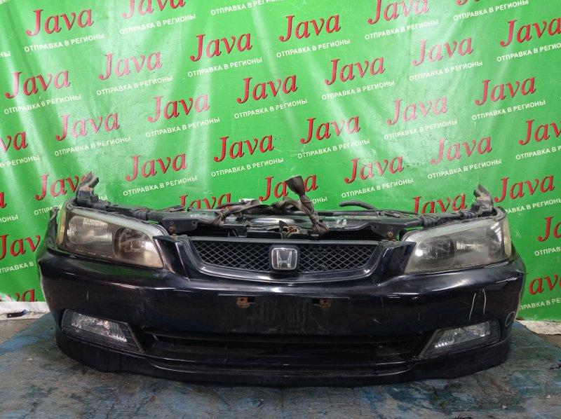 Ноускат Honda Accord CF4 F20B 1998 передний (б/у) XENON. ТУМАНКИ. ПОД А/Т. ПОТЕРТОСТИ.