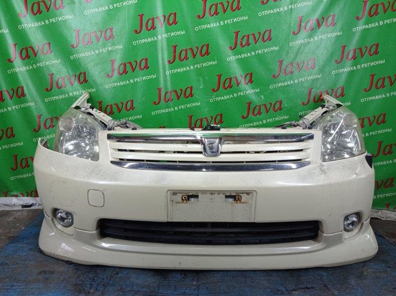 Ноускат Toyota Raum NCZ20 1NZ-FE 2004 передний (б/у) 1-я МОДЕЛЬ. КСЕНОН. ТУМАНКИ. ПОД А/Т. ГУБА. ПОЛЕЗ ЛАК