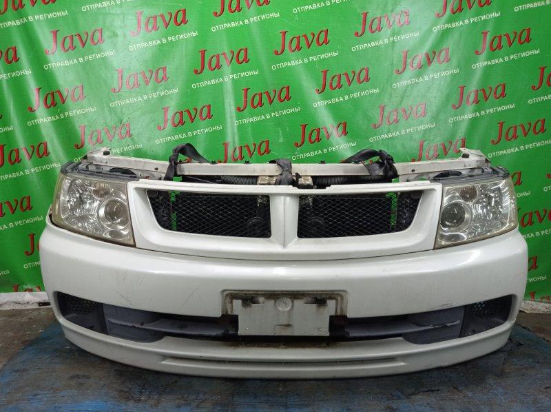 Ноускат Nissan Bassara JU30 KA24DE 2000 передний (б/у) ГАЛОГЕН. ПОД А/Т. ПОДОРВАН БАМПЕР.