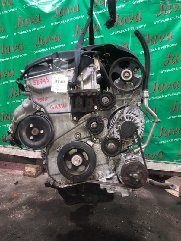 Двигатель Mitsubishi Rvr GA3W 4B10 2010 (б/у) ПРОБЕГ-56000КМ. 2WD. +КОМП. ПОД А/Т. СТАРТЕР В КОМПЛЕКТЕ.