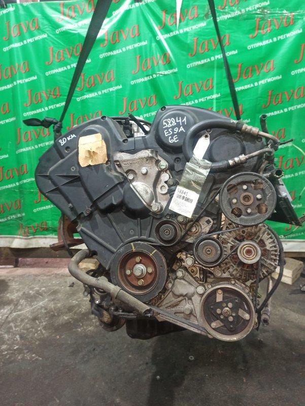 Двигатель Peugeot 407 6E ES9A 2005 (б/у) ПРОБЕГ-80000КМ. 2WD. +КОМП. ПОД А/Т. СТАРТЕР В КОМПЛЕКТЕ. VF36EXFVJ21287044