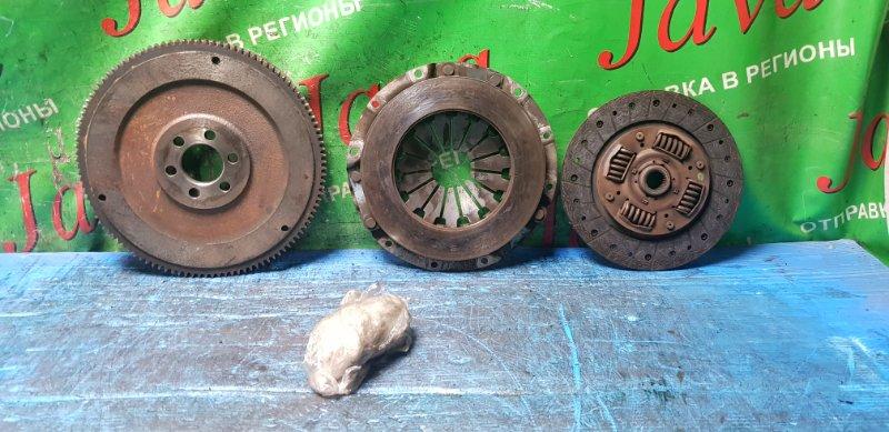 Маховик Nissan Vanette SE88TN F8 1996 (б/у) Маховик. Корзина. Диск сцепления. + Болты. В сборе.
