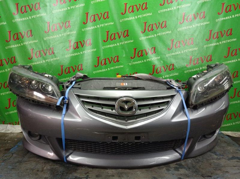 Ноускат Mazda Atenza GY3W L3-VE 2004 передний (б/у) КСЕНОН. ТУМАНКИ. ПОД М/Т.