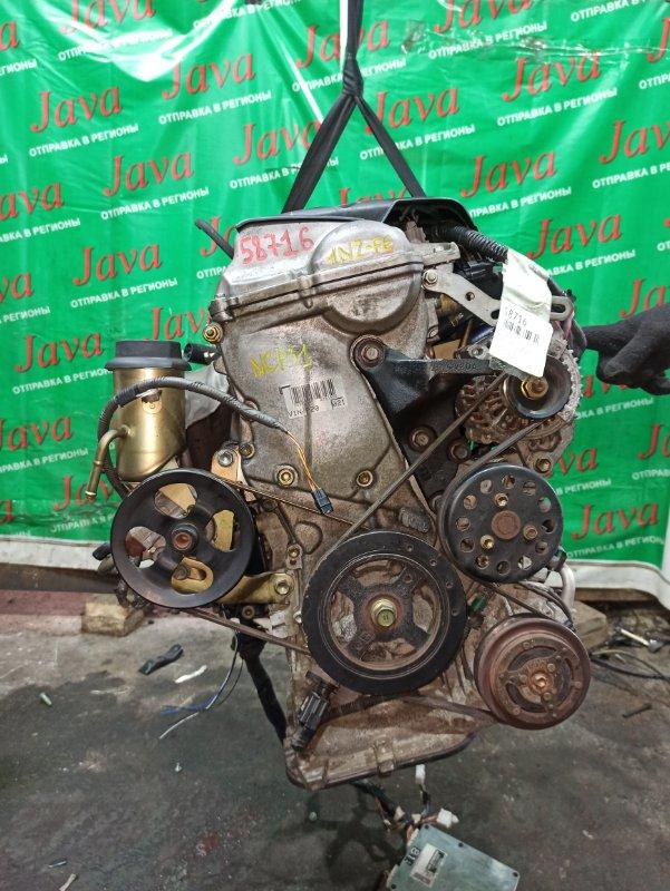 Двигатель Toyota Bb NCP31 1NZ-FE 2001 (б/у) ПРОБЕГ-21000КМ. 2WD. МЕХ.ЗАСЛОНКА. +КОМП. ПОД А/Т. СТАРТЕР В КОМПЛЕКТЕ.