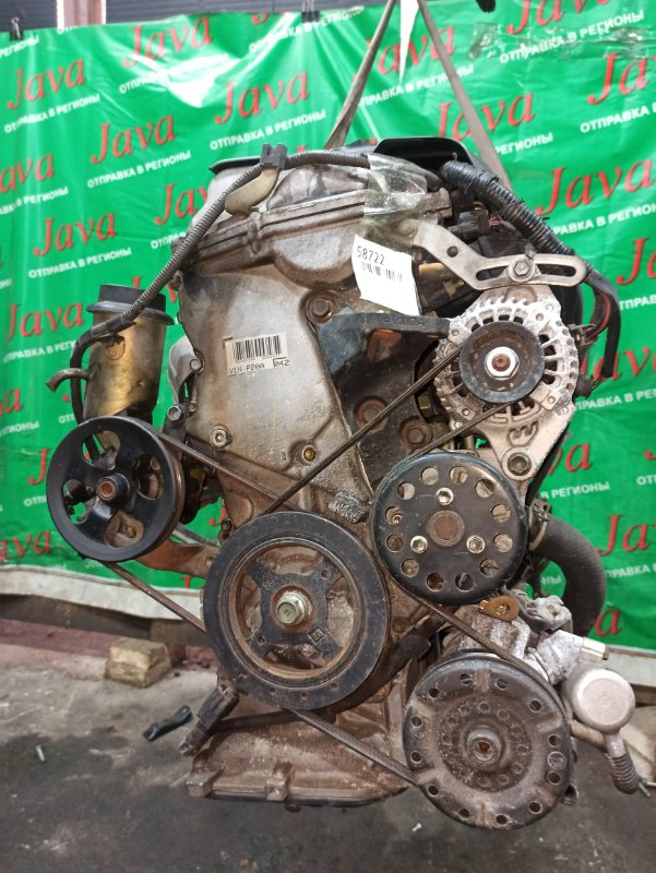 Двигатель Toyota Raum NCZ20 1NZ-FE 2004 (б/у) ПРОБЕГ-77000КМ. 2WD. МЕХ.ЗАСЛОНКА. +КОМП. ПОД А/Т. СТАРТЕР В КОМПЛЕКТЕ.