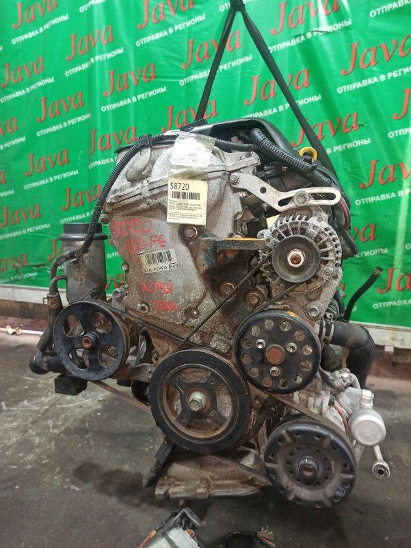 Двигатель Toyota Succeed NCP59 1NZ-FE 2006 (б/у) ПРОБЕГ-78000КМ. 4WD. МЕХ.ЗАСЛОНКА. +КОМП. ПОД А/Т. СТАРТЕР В КОМПЛЕКТЕ.
