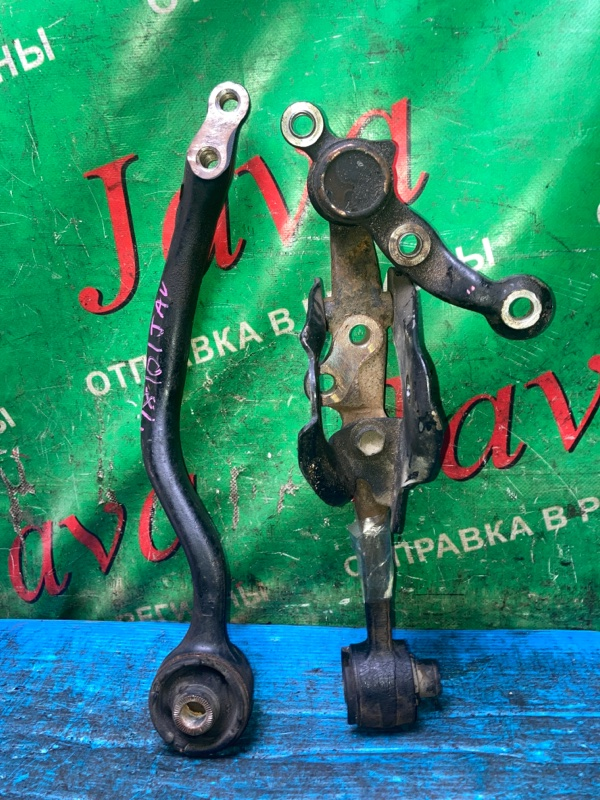 Рычаг Toyota Aristo JZS147 2JZ-GE 1994 передний левый нижний (б/у) 2WD. ДЕФЕКТ САЙЛЕНТБЛОКА.