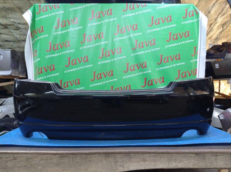 Бампер Nissan Fuga PY50 VQ35DE 2006 задний (б/у) 1-я МОДЕЛЬ. ПОТЕРТОСТИ. СОНАРЫ. ГУБА