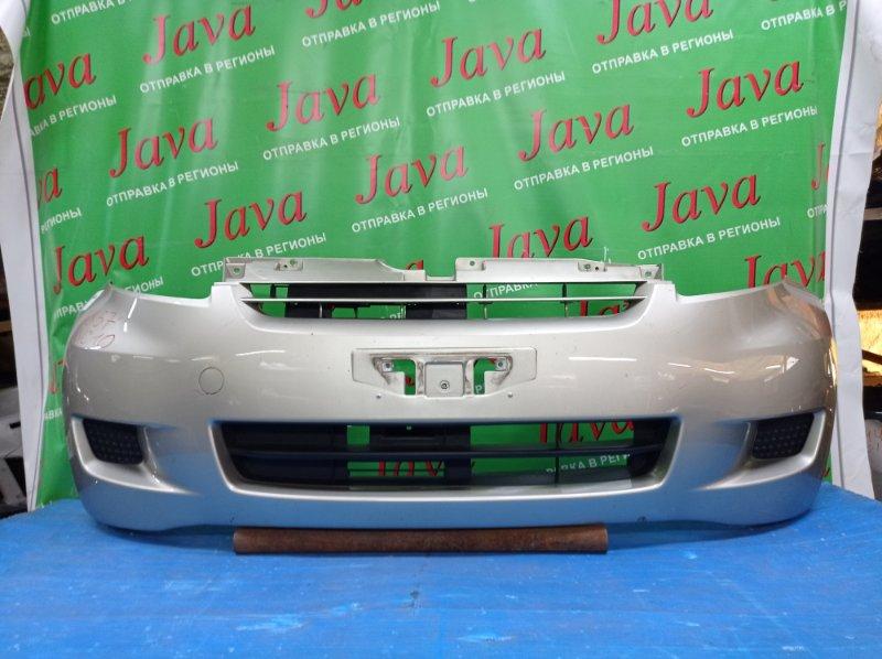 Бампер Toyota Passo QNC10 K3-VE 2009 передний (б/у) 2-я МОДЕЛЬ. ПОТЕРТОСТИ. ДЕФЕКТ КРЕПЛЕНИЯ
