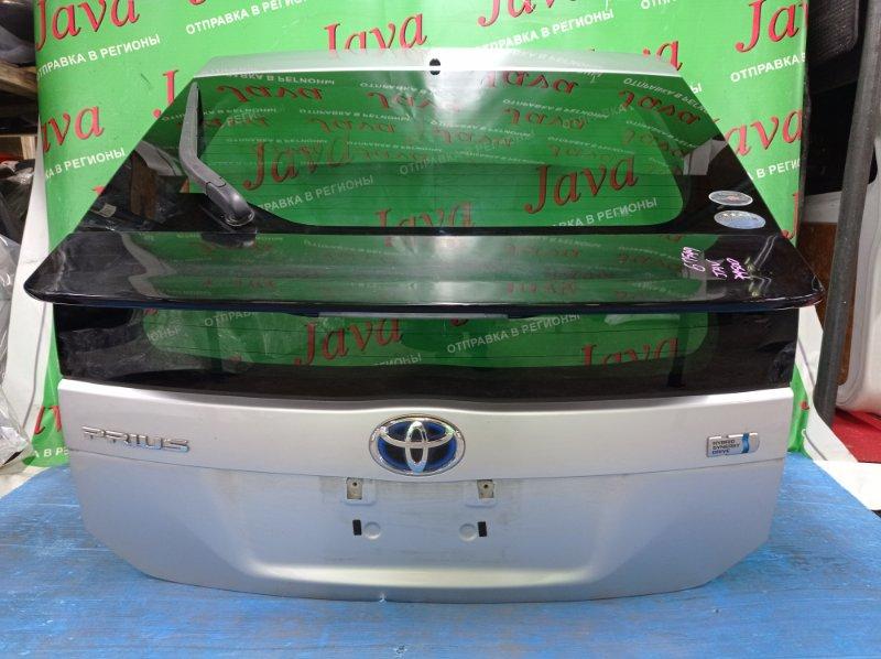 Дверь задняя Toyota Prius ZVW30 2ZR-FXE 2010 задняя (б/у) ПОТЕРТОСТИ. ТЫЧКИ. МЕТЛА.КАМЕРА