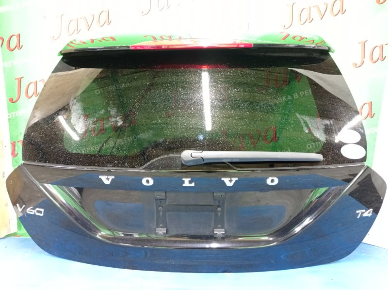 Дверь задняя Volvo V60 FW48 B4164T 2012 задняя (б/у) ПОТЕРТОСТИ. МЕТЛА. КАМЕРА. YV1FW485BD1103592