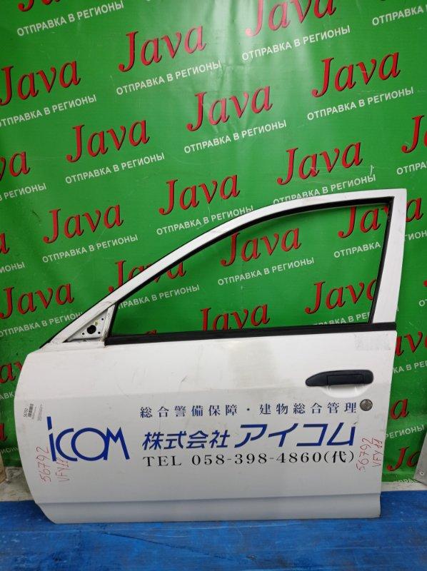 Дверь Nissan Ad VFY11 QG15DE 2006 передняя левая (б/у) ПОТЕРТОСТЬ. ЭЛЕКТРО