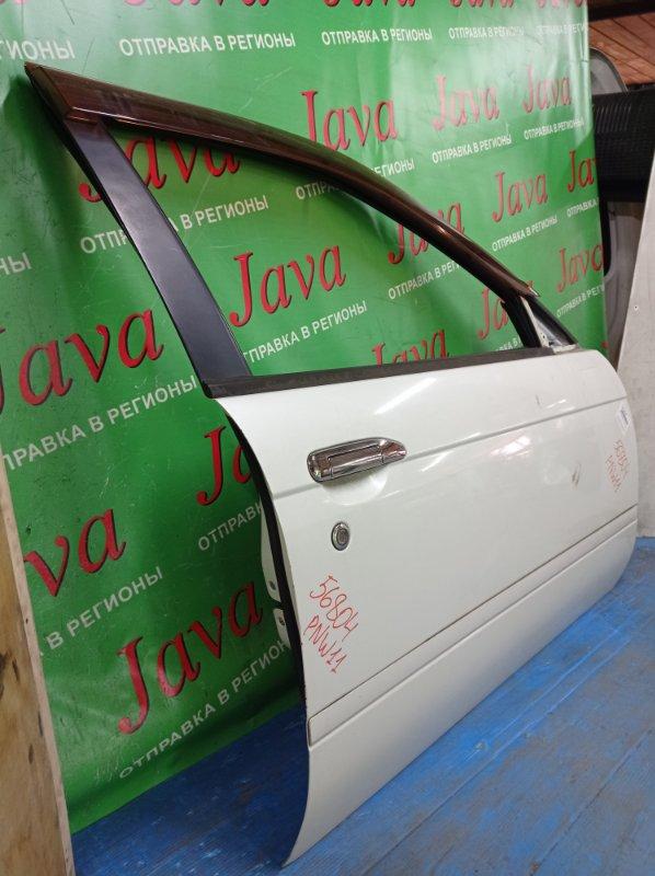Дверь Nissan Avenir PNW11 SR20DE 1998 передняя правая (б/у) ПОТЕРТОСТИ.
